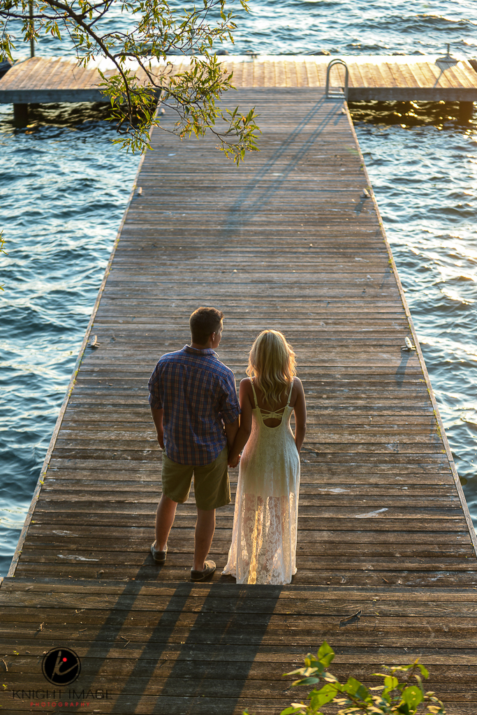 Keswick Engagement Photography – Cook's Bay – Elizabeth and Shawn